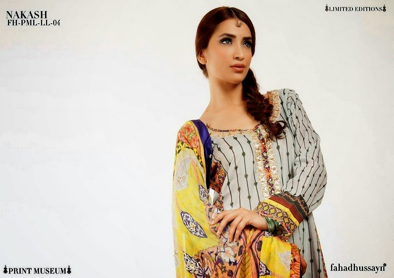 Lawn Eid Collection 2014 by Fahad Hussain