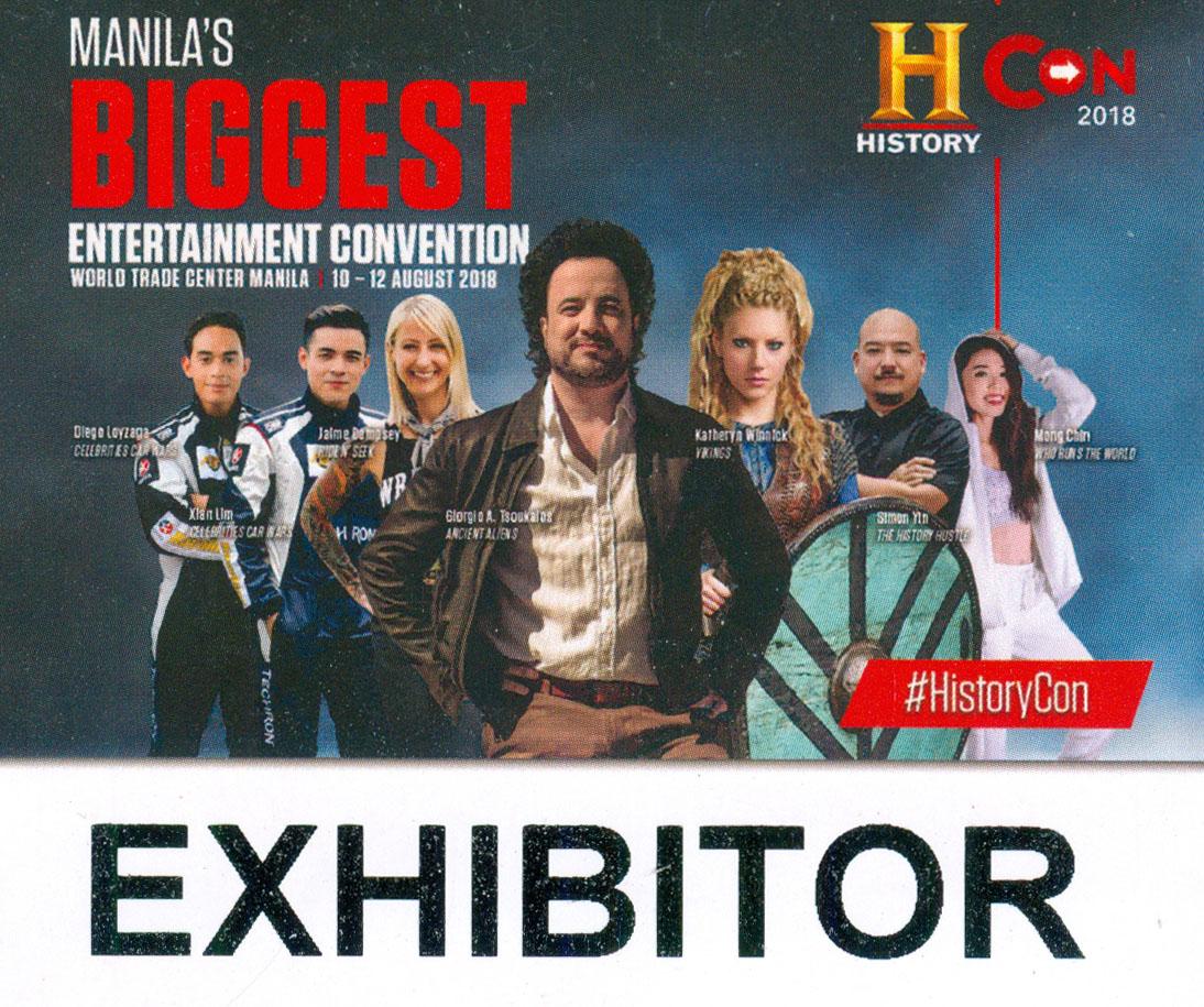 History Con 2018 Exhibitor