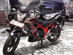 Modifikasi Honda Verza Street Fighter
