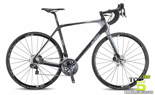 KTM REVELATOR SKY DI2 BLACK, gran bici para los auténticos cicloturistas