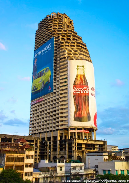 Coca-cola advertising in Bangkok