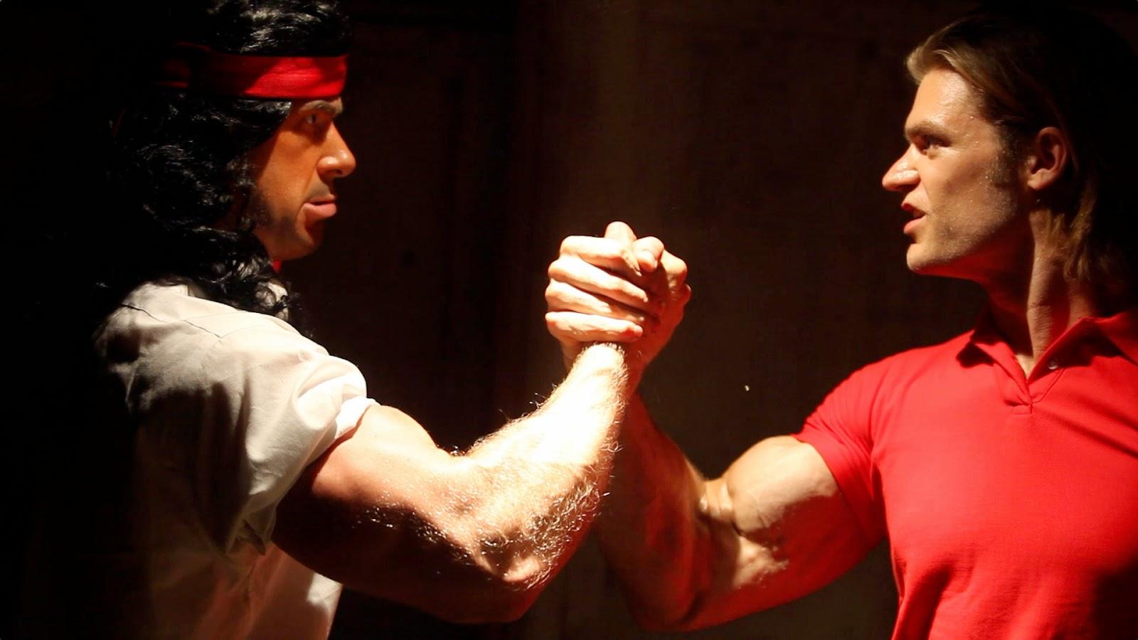 arnold schwarzenegger vs sylvester stallone epic rap battle