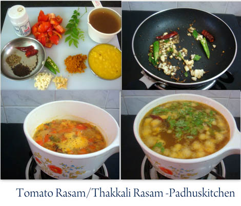 how to make tomato rasam