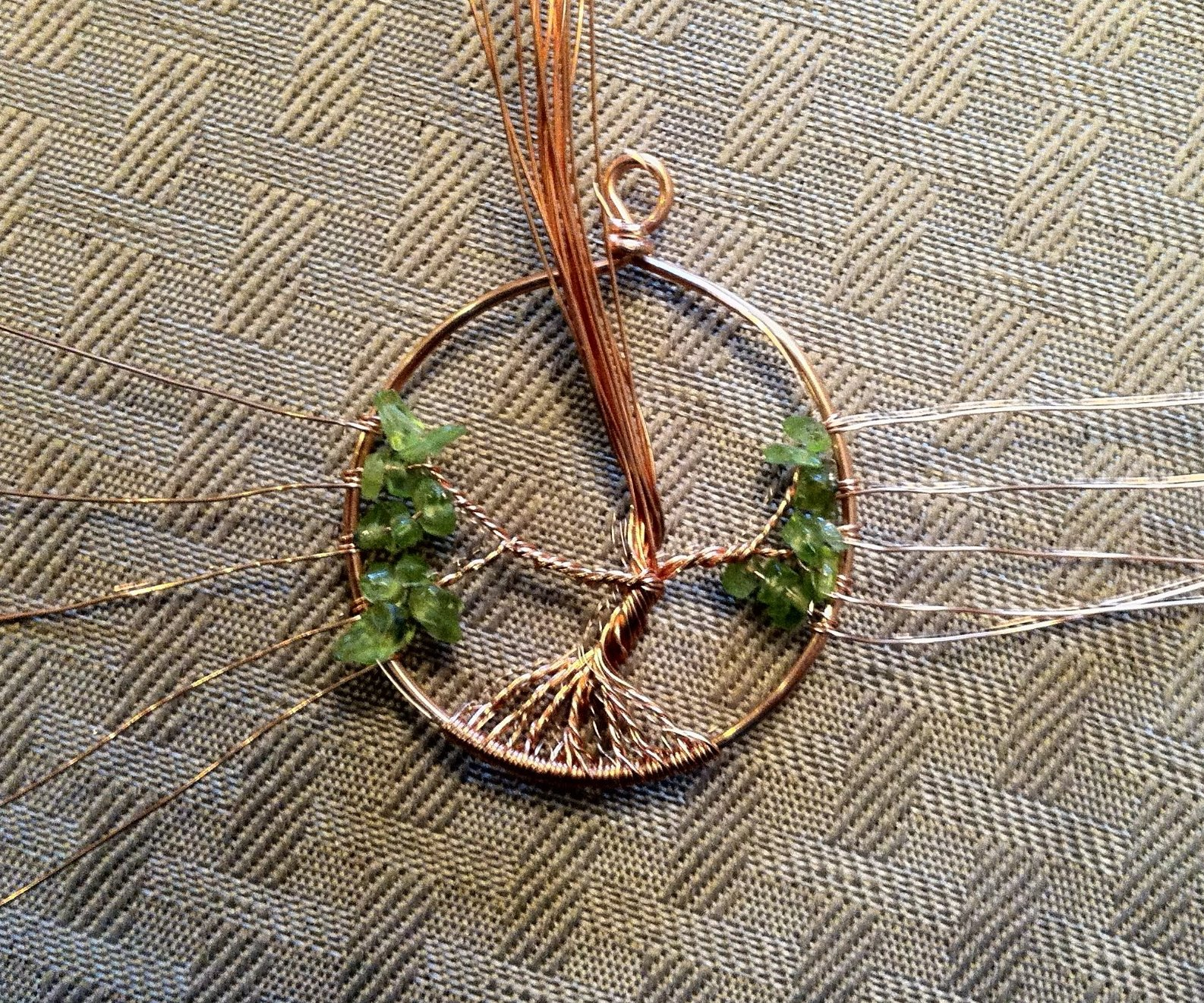 Miscellanea etcetera jewelry tutorial tree of life pendant mozeypictures Image collections