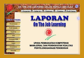 Fille Contoh On The Job Learning ( OJL ) Lengkap Terbaru