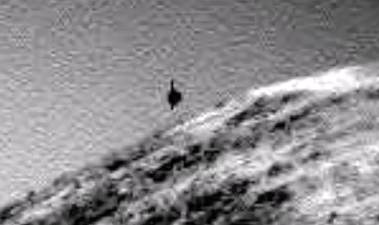 Black UFO Caught Above Mars Rover 2015, UFO Sightings