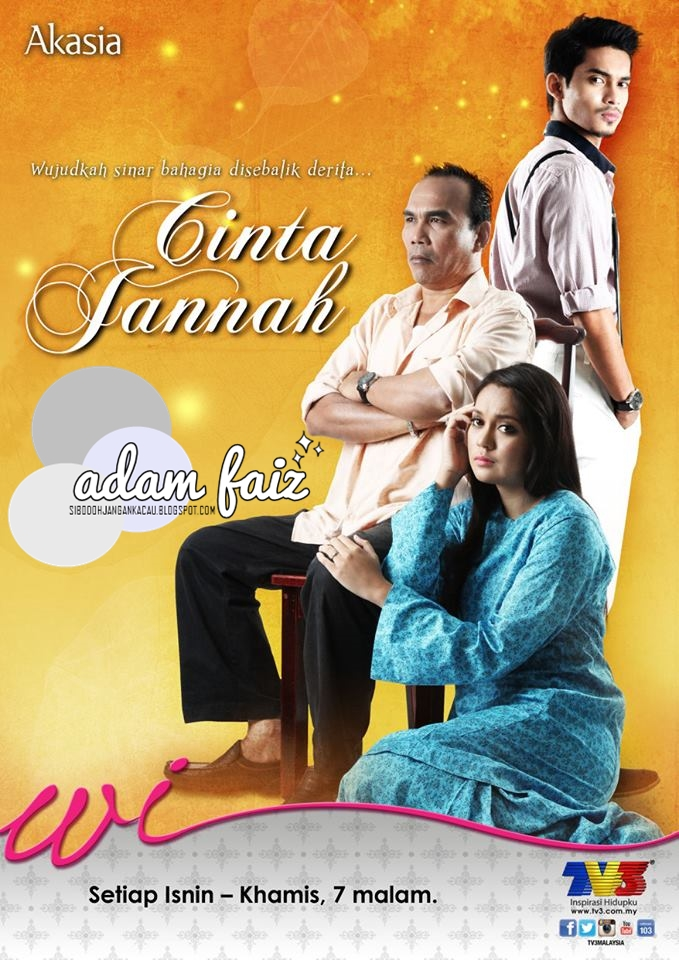 Tonton Cinta Jannah TV3 Full Episod