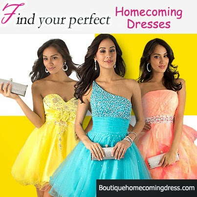 Finding the Right Homecoming Dresses