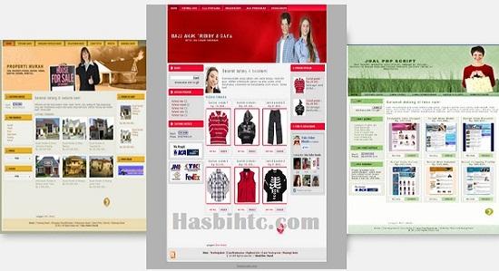 Template Gratis Toko Online Untuk Blogspot