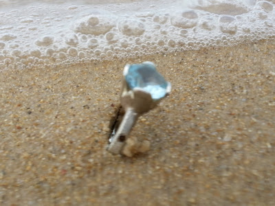 blue topaz silver ring by akvjewelry, story ring