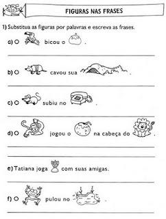 Educação Em Alto Grau Atividades De Alfabetização Completar As