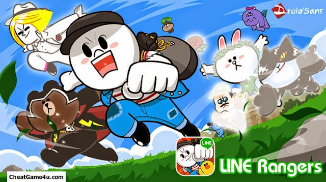 DownloadGame Cheat Line Rangers v1.04 Mod Android Apk