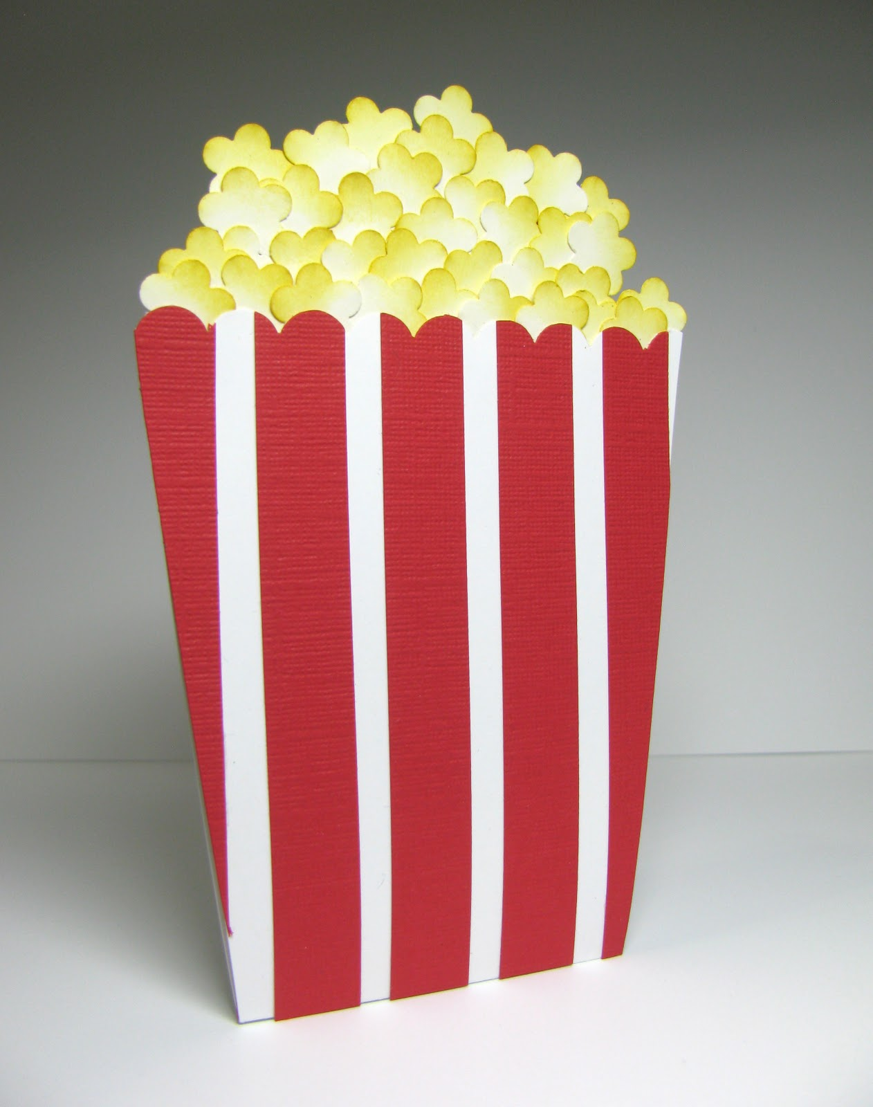 Movie / Popcorn Gift Card Holder