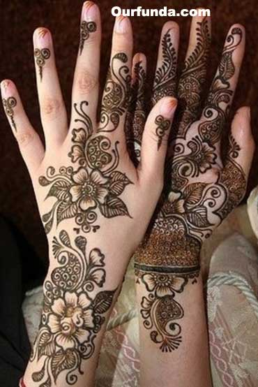 Arabic Henna Mehndi Design Indian