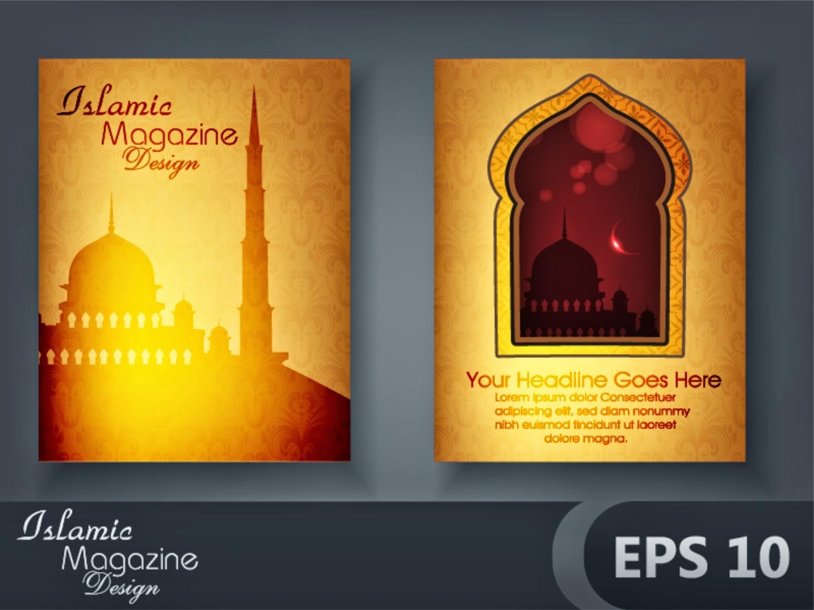 Book Cover Design Arabic : Creative design magazine cover