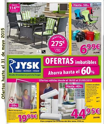 Catalogo JYSK de Mayo 2015