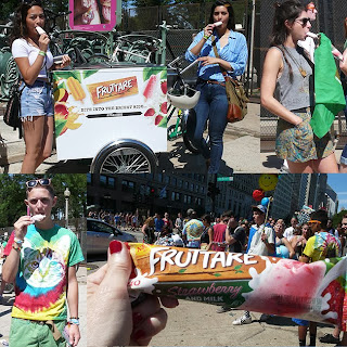 Sweet Treat. Fruttare Frozen Fruit and Milk Bars at Lollapalooza