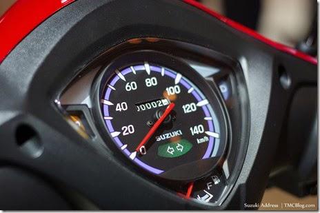 Spedometer New Suzuki Address