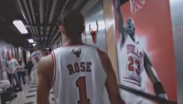 Rose Jordan Chicago Bulls Leyend
