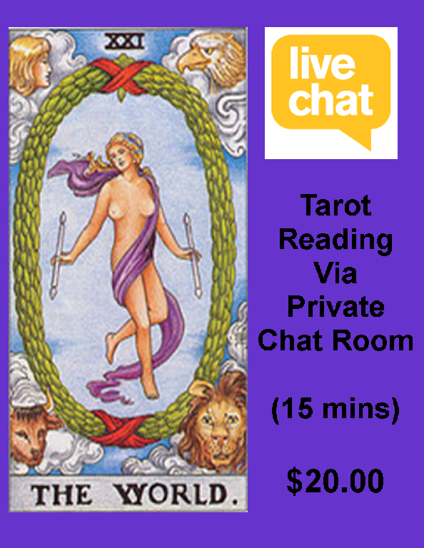15 min chat reading- Read more about it