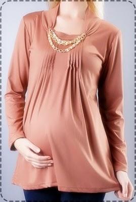 Model Baju Hamil Muslim Untuk Kerja 001