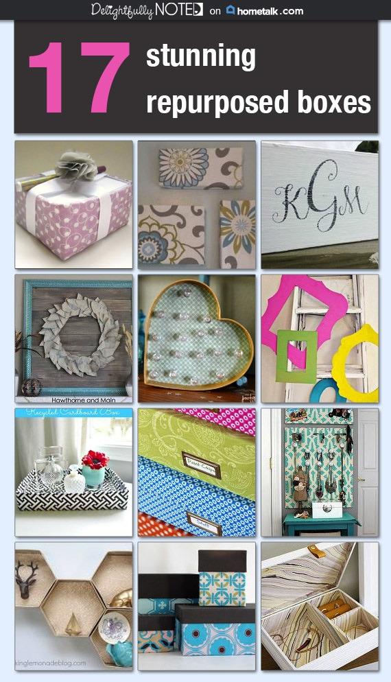 17 Clever Ways to Repurpose a Box