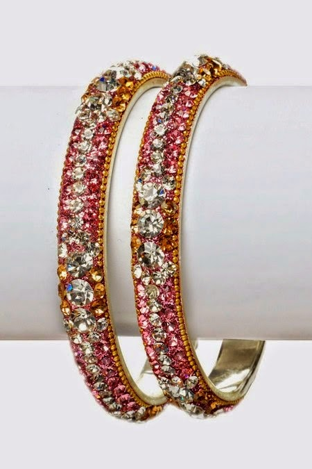 Latest Designer Bangles for Parties 2014