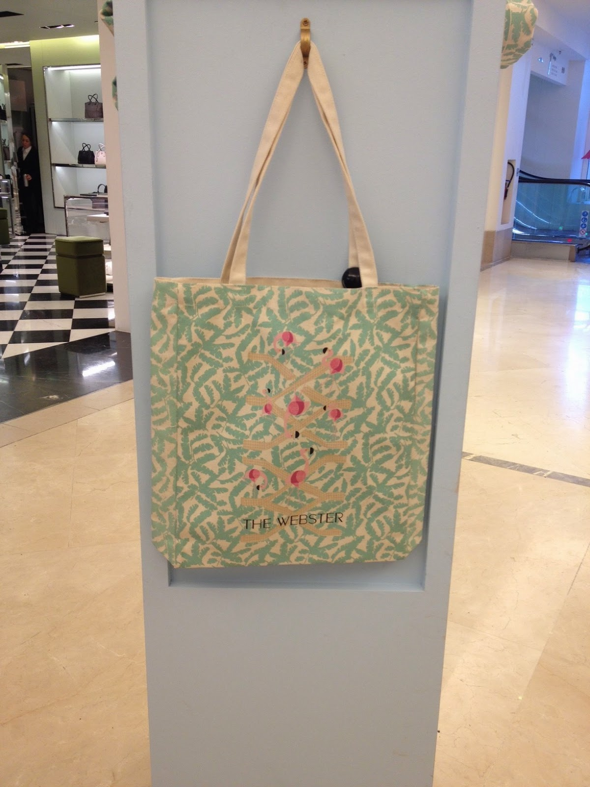 Le Bon Marché/ Le Webster collaboration tote bag