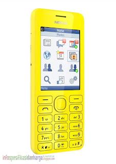 Harga NOKIA Asha 206 Ponsel Terbaru 2012