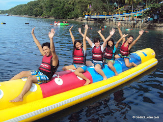Day 283: Banana Boat Riding at Maxima Beach Resort