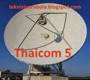 Thaicom 5 Satellite