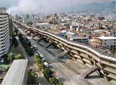 Dampak Gempa bumi di Kobe, Jepang