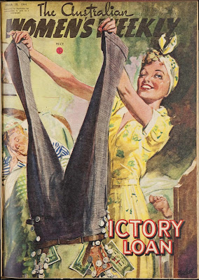 Australian Women's Weekly Cover, Victory Loan, March 1944