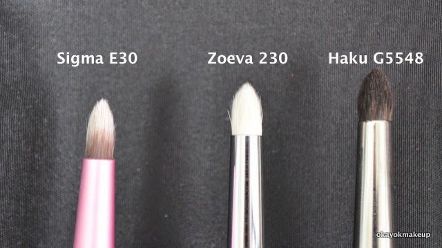 zoeva pencil brush comparison