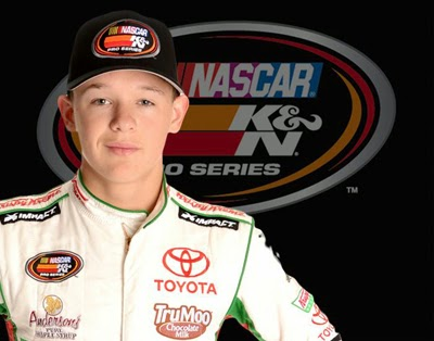 Gray Gaulding, age 15 Sets A Trio Of NASCAR Records