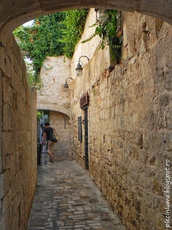 Plimbare prin Trogir, Croatia