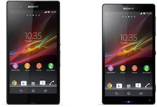 Sony Xperia Jumbo Z dan ZL Pesaing Galaxy Note