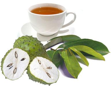 manfaat buah sirsak Teh Dari Kulit Buah