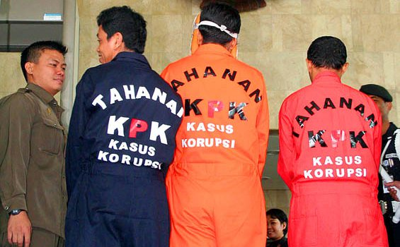 Baju Tahanan KPK (versi ICW)