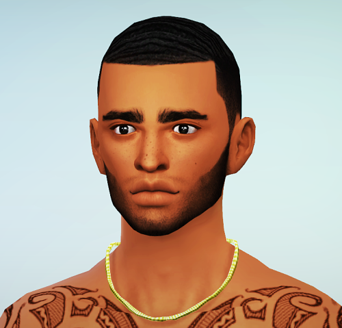 Gourmet Sims X Waves Cut Ym Em By Blvcklifesims
