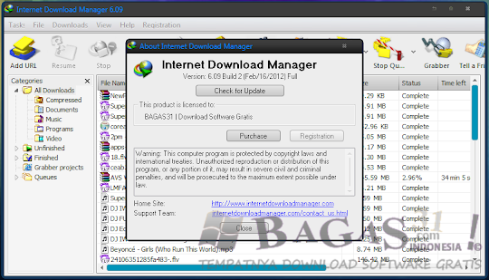Internet Download Manager 6.09 build 2 - Full Patch 1