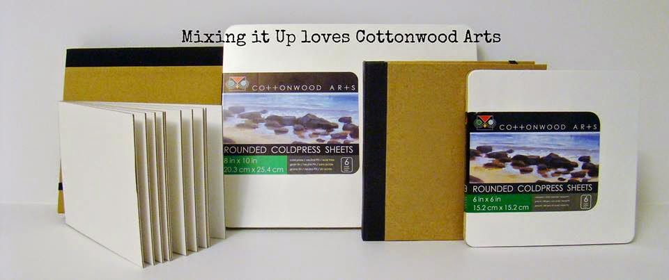 Mixing It Up Loves Cottonwood Arts; blog hop
