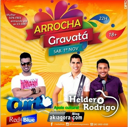 Arrocha Gravatá 2014 na Red & Blue