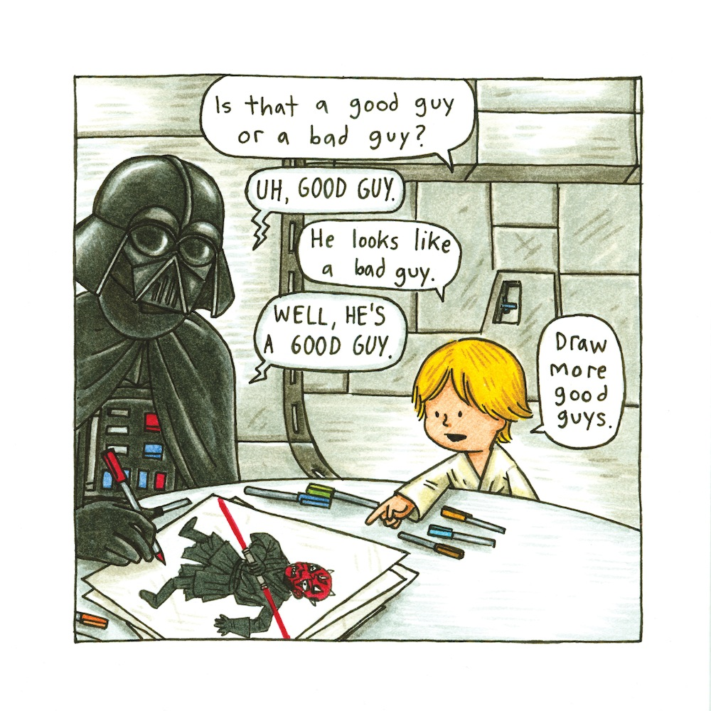 Darth Vader and Son: Draw More Good Guys
