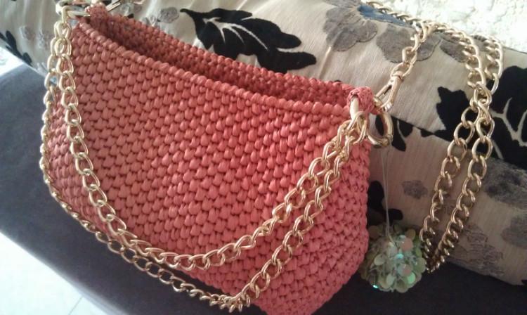 Patrones crochet - Como hacer bolsos tejidos ...