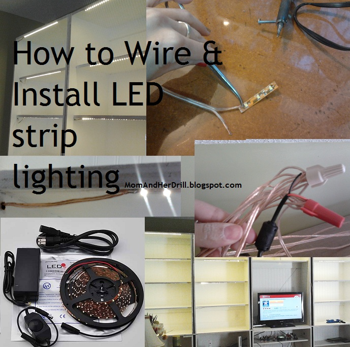 How to wire install led reel lighting a tutorial mom and her drill how to wire install led reel lighting a tutorial aloadofball Gallery