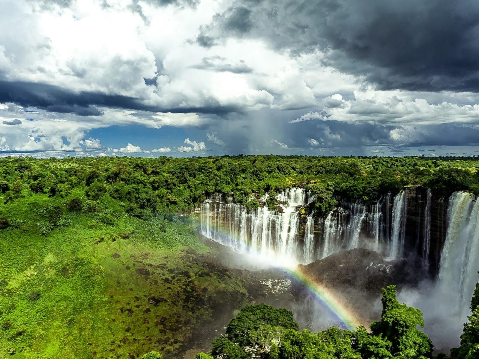 Cascadas de Kalandula Angola Africa