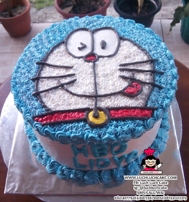 Doraemon Kue Tart Buttercream