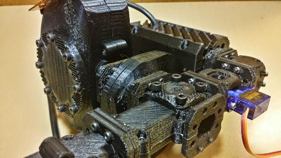 Peças impressas em 3D