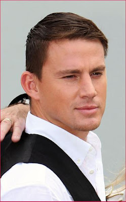 CHANNING TATUM HAIRSTYLES - SHORT FORMAL HAIRCUT